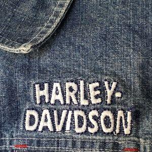 Harley Davidson jean girl jacket size 2T